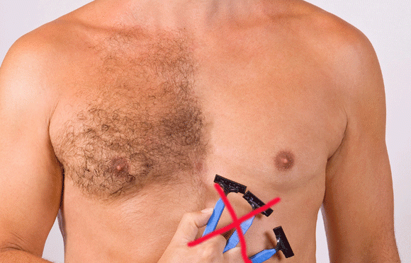 Too much body hair - 8 Grooming Mistakes