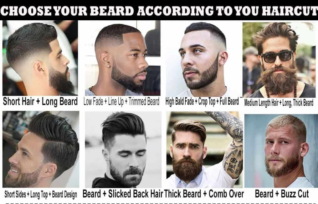 Choose Your Beard Style According to Your Haircut