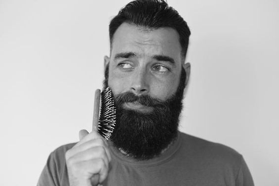 A step by step guide comb your beard