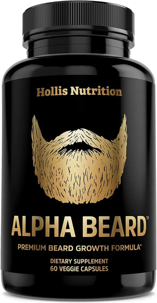 Alpha Beard Beard Growth Supplement Review - By Bizarbin.com