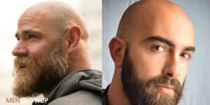 How To Get Bald With Beard Look - MGU
