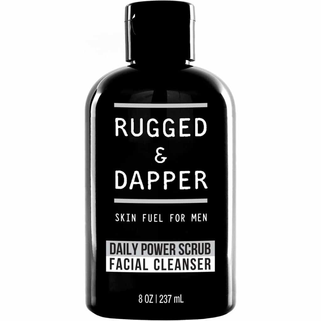 Rugged & Dapper Daily Face Wash and Scrub For Men Review