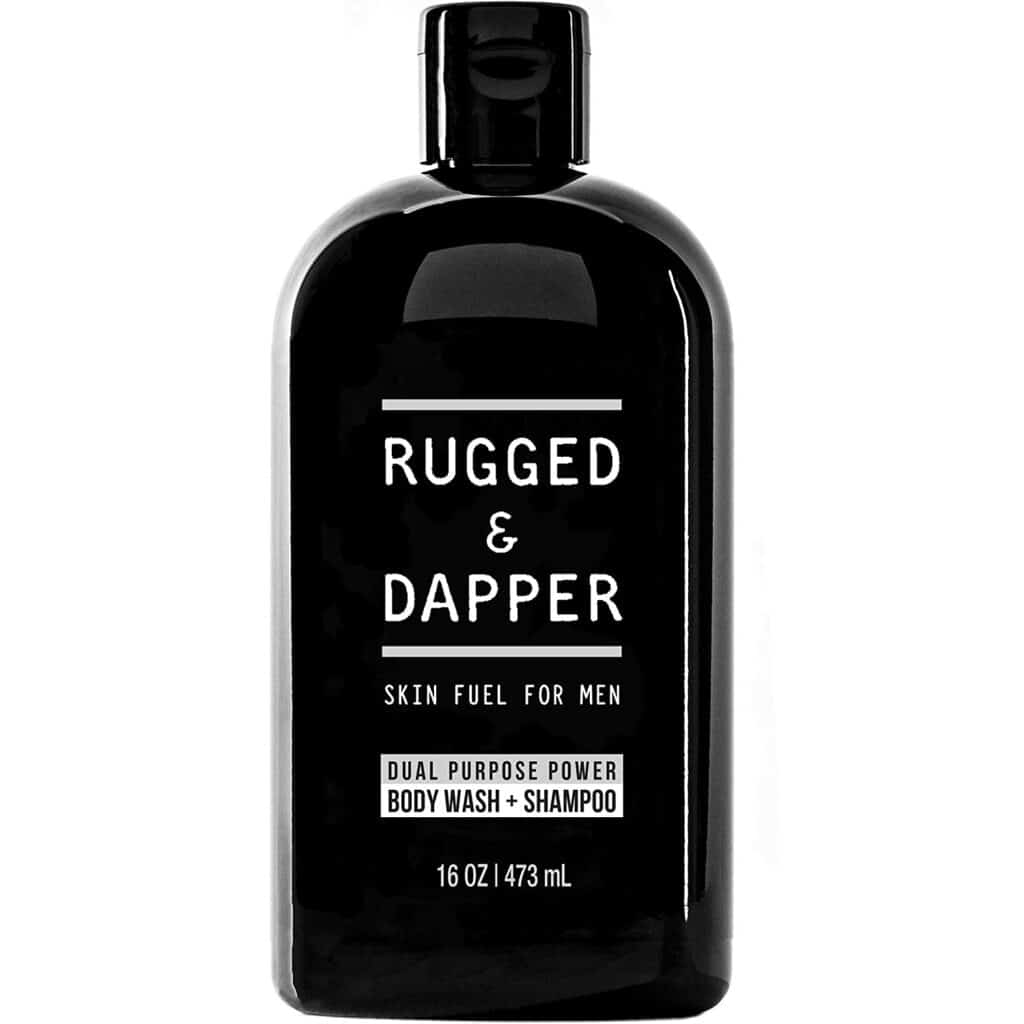 RUGGED & DAPPER Dual-Purpose Body Wash and Shampoo for Men Review