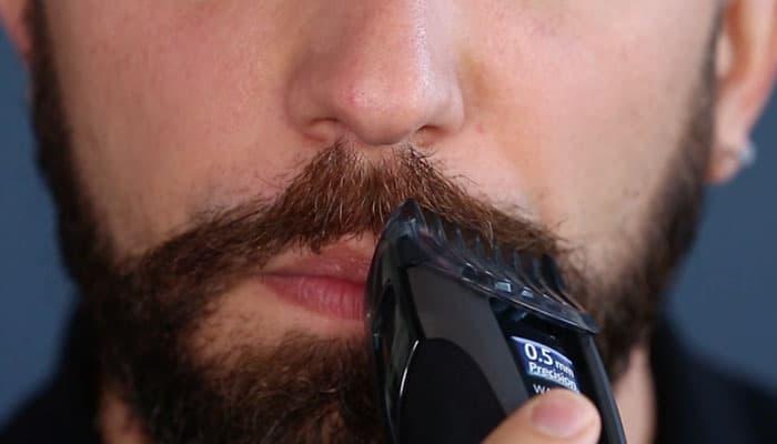 Trim Moustache