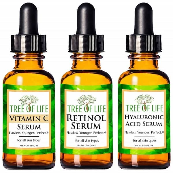 Tree of Life Anti-Aging Face Serum 3-Pack