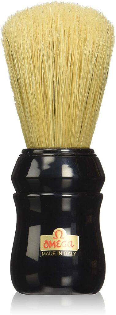 Omega Pure Bristle Shaving Brush Review