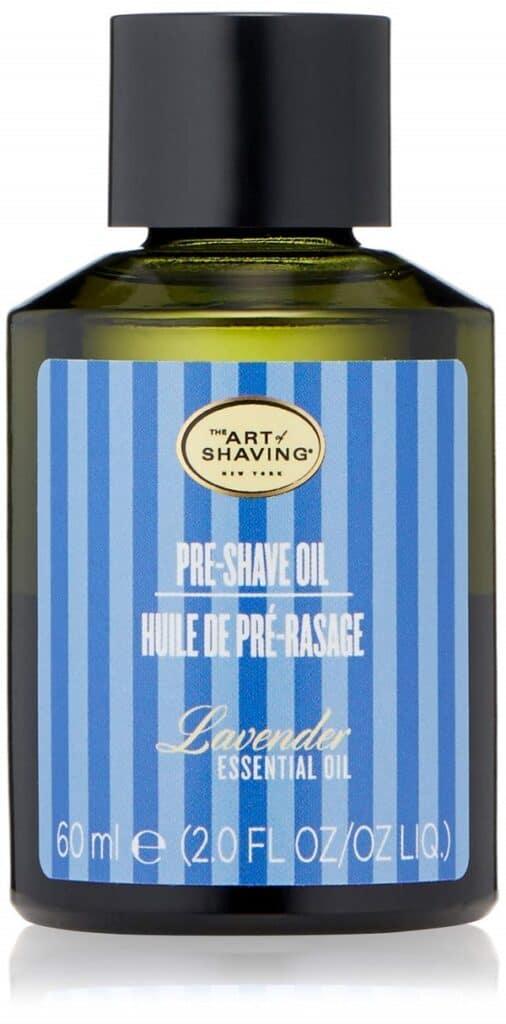 Pre-shaving oil