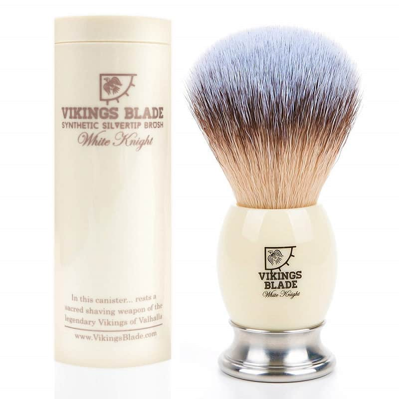 VIKINGS BLADE 'White Knight' Luxury Shaving Brush Review