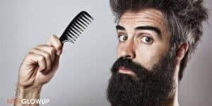 how to straighten your beard -MGU