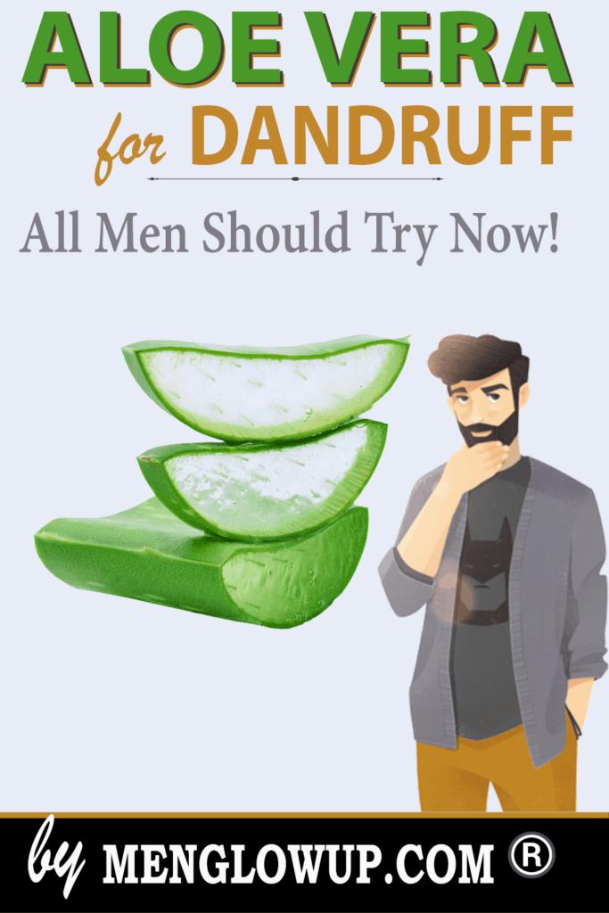 how to use aloe vera for dandruff pinterest