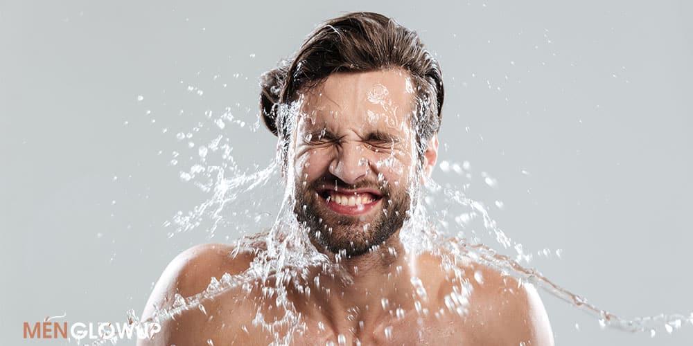 men skincare routine