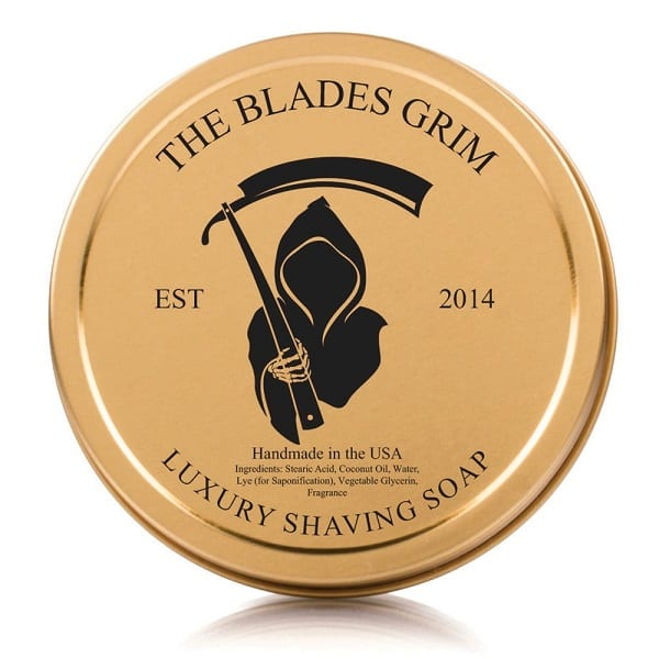 The Blades Grim – Luxury Shave Soap