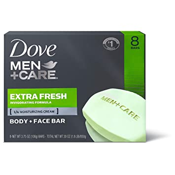 gentle soap for men