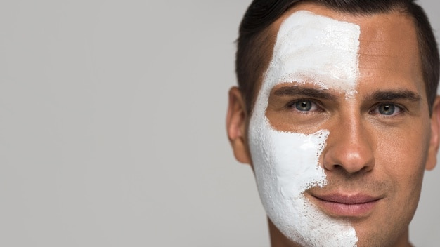 Men's skincare routine