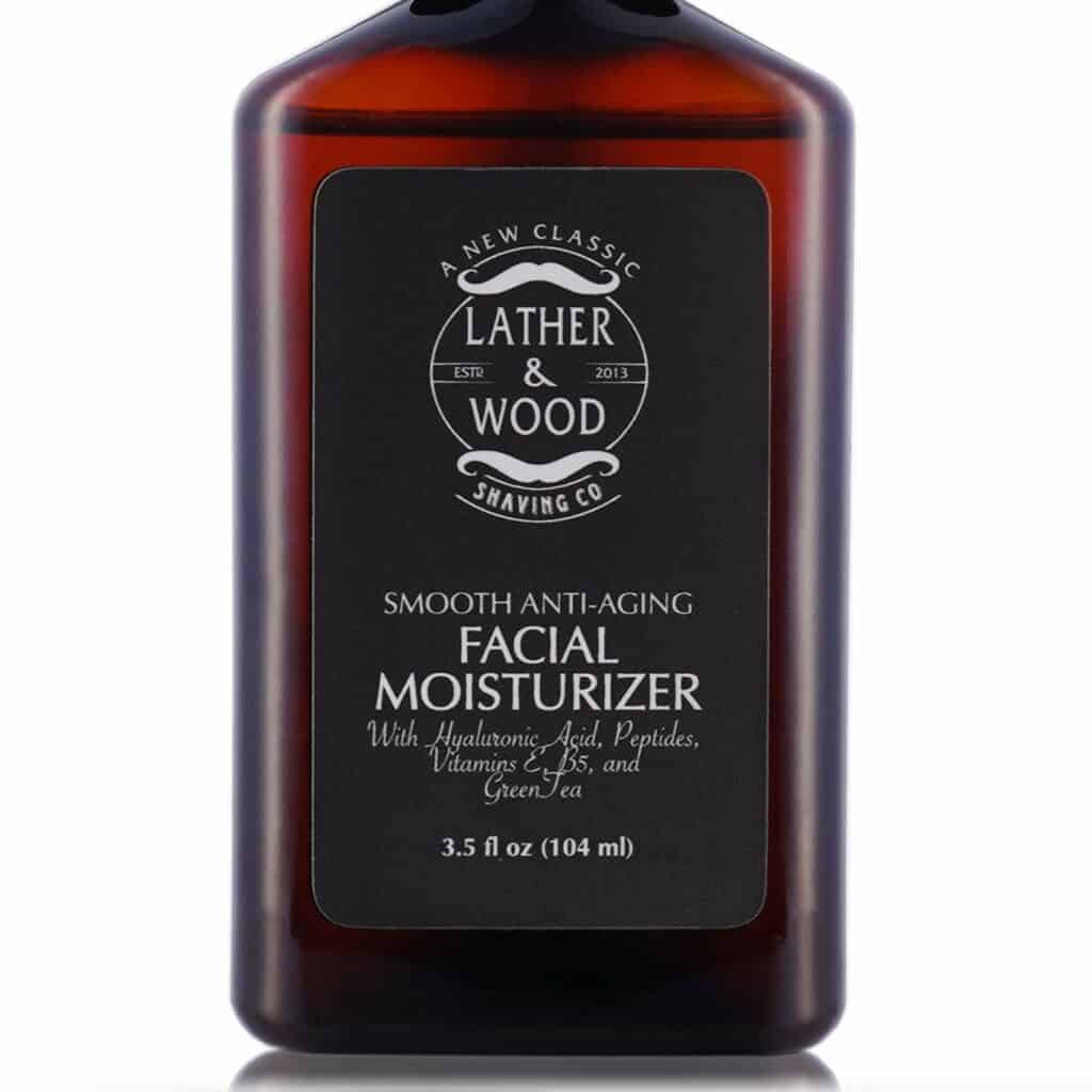 Lather & Wood Shaving Face Moisturizer for Men Review