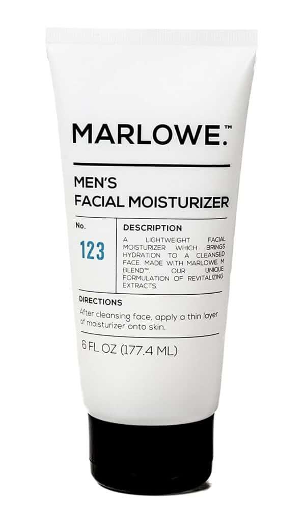 MARLOWE. No. 123 Men's Facial Moisturizer Review