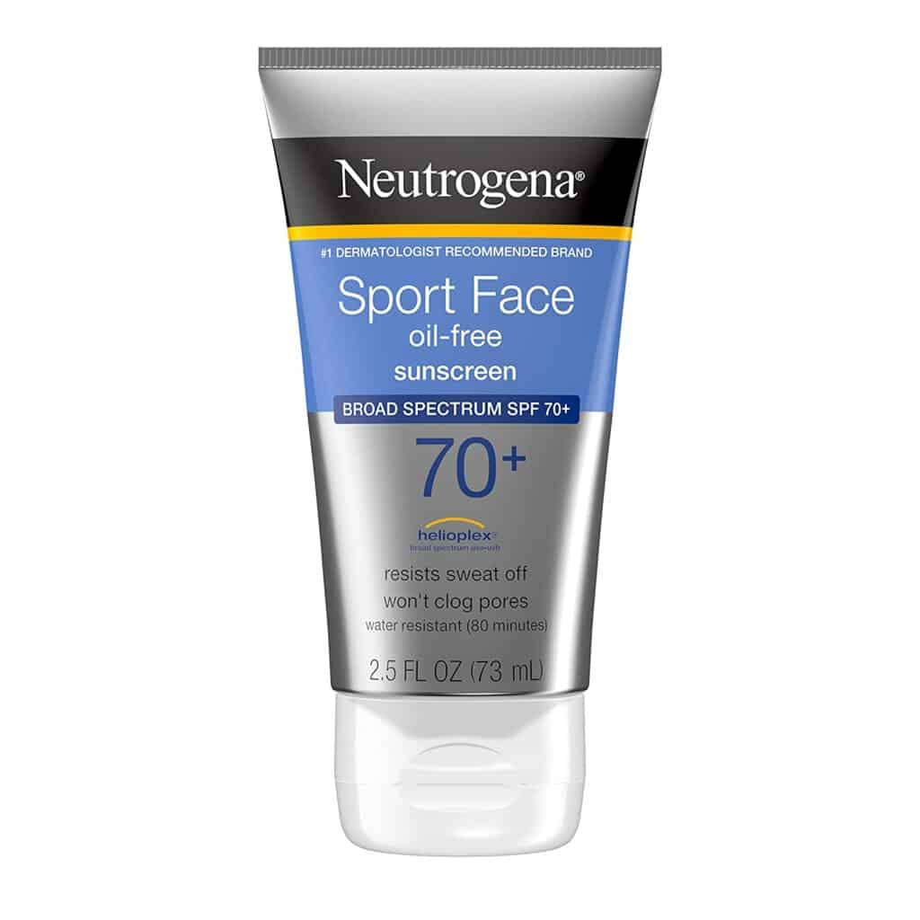 Neutrogena Sport Face Sunscreen Review