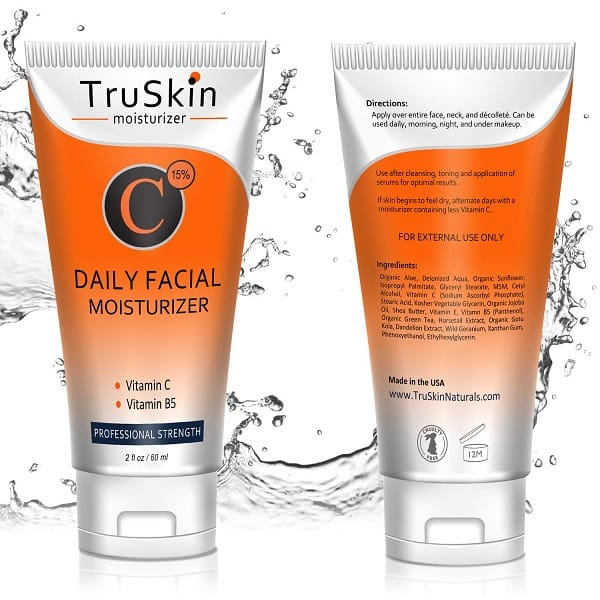 TruSkin Vitamin C Moisturizer Face Review