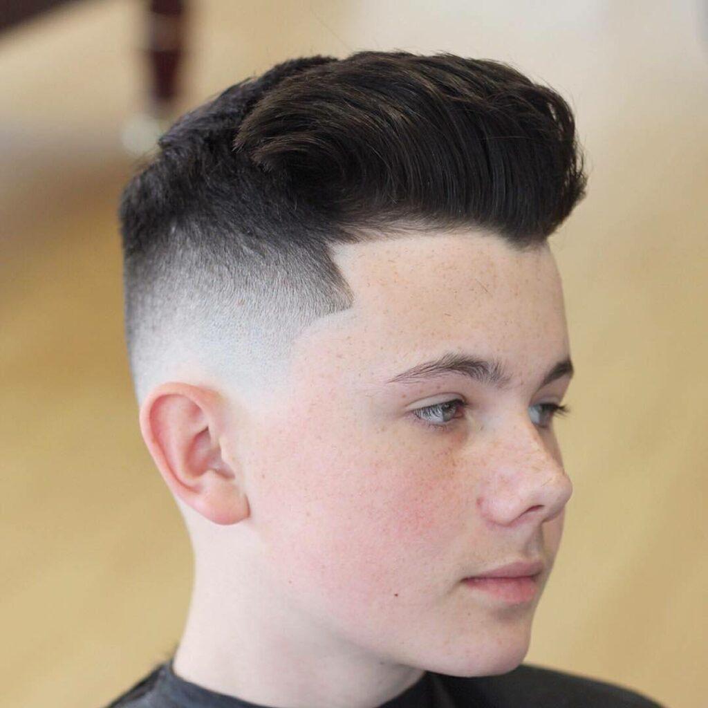 Quiff Haircut - Cool Teen Boy Haircuts