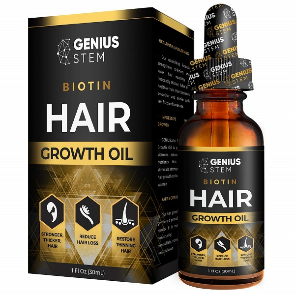 GENIUS Hair Growth Oil Review