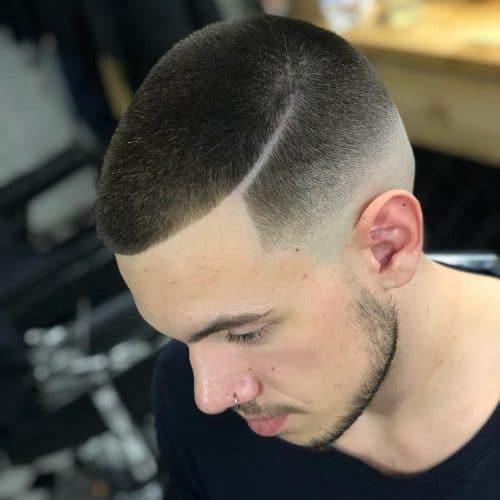 The Bald Taper Fade Haircut
