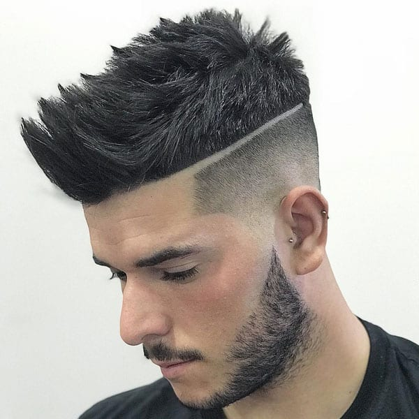 The Brushed Up Taper Fade Haircut