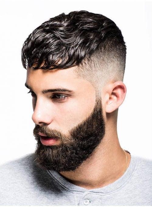The Caesar Fade Haircut