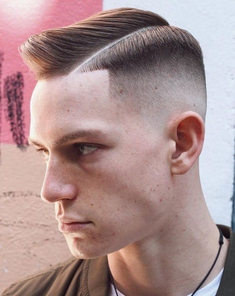 The Precise Taper Fade and Comb Over Haircut