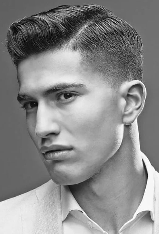The Quiff and Taper Fade Haircut