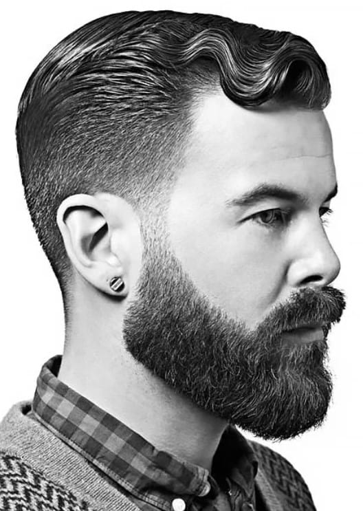 The Taper Fade and Beard Style