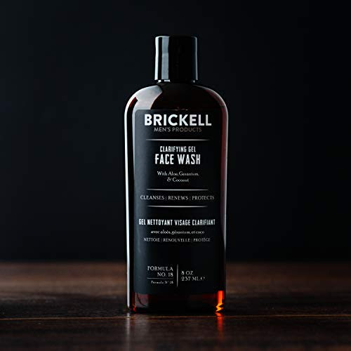 Brickell Clarifying Gel Face Wash for Men Review