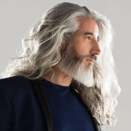 Flowing Locks With A Pointy Beard