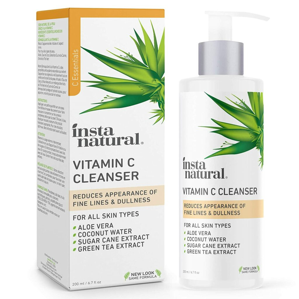 InstaNatural Facial Cleanser Review