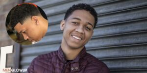 Lil Bibby Line Up Fade Haircut