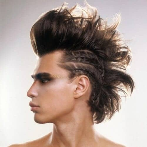 The Viking Mohawk With Braided Sides