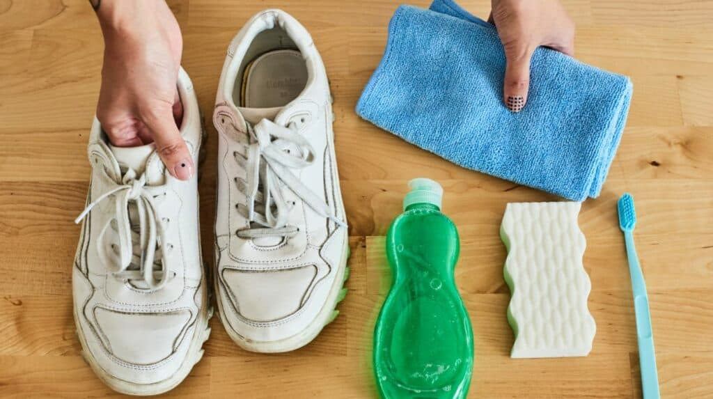 Use a Detergent and Warm Water